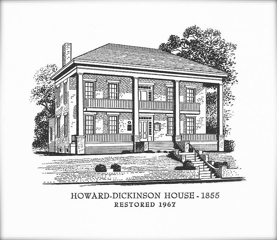 Howard Dickinson House Print